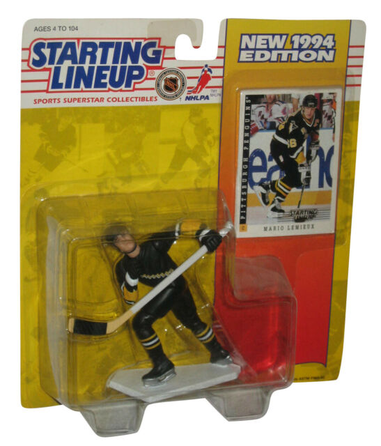 Kenner - Starting Lineup - 1984 - NHL Mario Lemieux - Figure/Collector Card