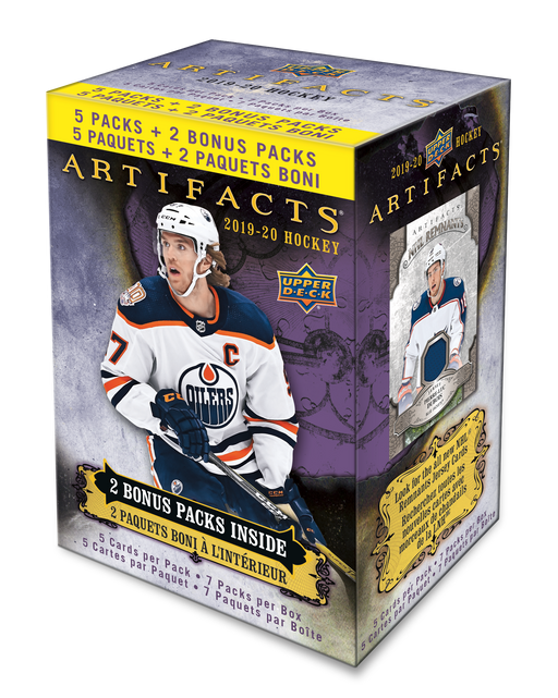 Upper Deck - 2019-20 - Hockey - Artifacts - Blaster Box