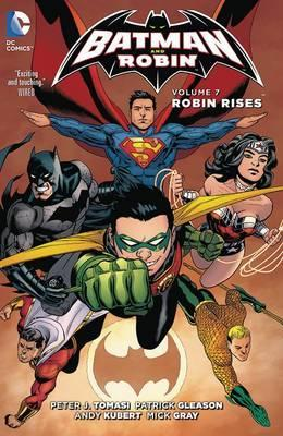 DC Comics - Batman and Robin - Robin Rises - Volume 7 - Hardcover