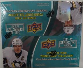 2011-12 Upper Deck Series 2 Hockey Retail Box Upper Deck | Cardboard Memories Inc.