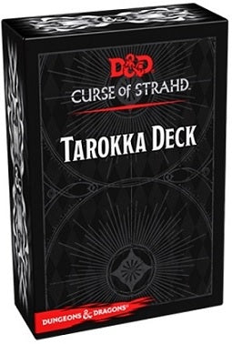 Wizards of the Coast - Dungeons and Dragons - Curse of Strand - Tarokka Deck