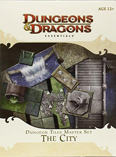 Dungeons & Dragons Essentials - The City Dungeon Tiles Wizards of the Coast | Cardboard Memories Inc.