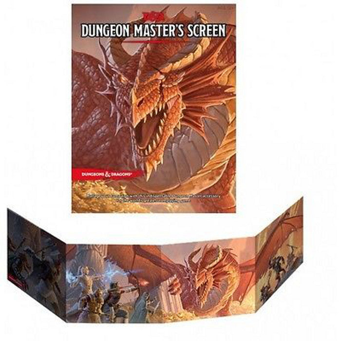 Dungeons & Dragons - Dungeon Master's Screen Wizards of the Coast | Cardboard Memories Inc.