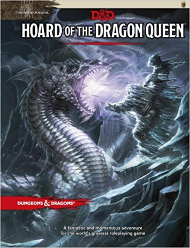 Dungeons & Dragons 5th Edition - Hoard of the Dragon Queen Wizards of the Coast | Cardboard Memories Inc.