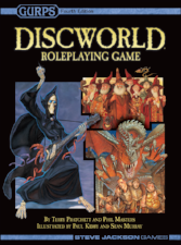 Gurps 4th Edition - Discworld Steve Jackson Games | Cardboard Memories Inc.