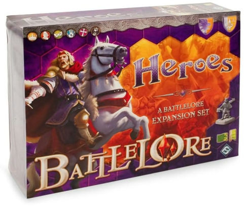 Battlelore - Heroes Expansion Fantasy Flight Games | Cardboard Memories Inc.