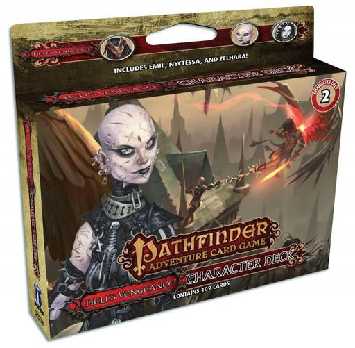 Pathfinder Adventure Card Game - Hell's Vengeance - Character Deck 2 Paizo | Cardboard Memories Inc.