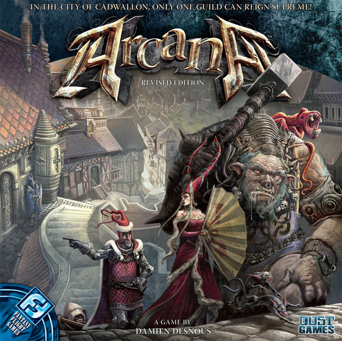 Arcana Revised Edition Fantasy Flight Games | Cardboard Memories Inc.