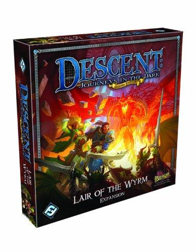 Descent: Journeys in the Dark - Lair of the Wyrm Expansion Fantasy Flight Games | Cardboard Memories Inc.