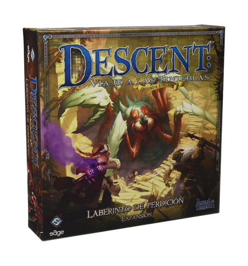 Descent : Journeys in the Dark - Labyrinth of Ruin Expansion (Second Edition) Fantasy Flight Games | Cardboard Memories Inc.