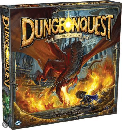 DungeonQuest Revised Edition Fantasy Flight Games | Cardboard Memories Inc.