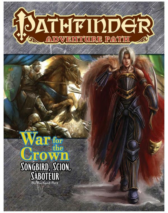 Pathfinder Adventure Path - War for the Crown - Songbird, Scion, Saboteur Paizo | Cardboard Memories Inc.