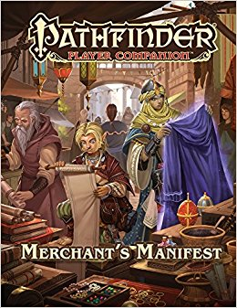 Pathfinder Player Companion - Merchant's Manifest Paizo | Cardboard Memories Inc.