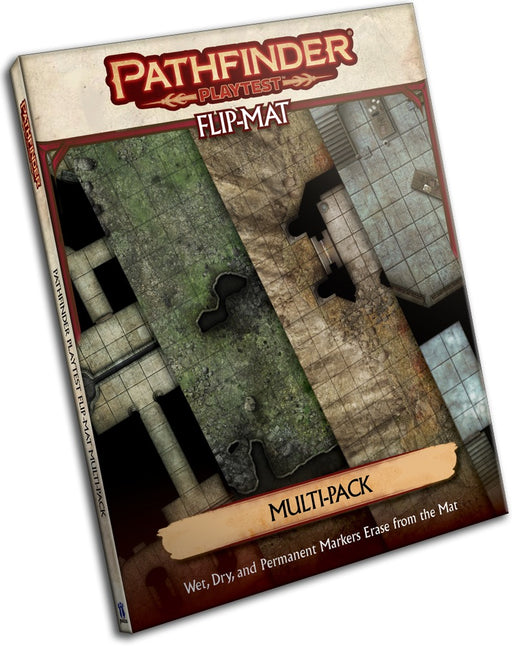 Pathfinder 2E Playtest Flip-Mat - Multi-Pack
