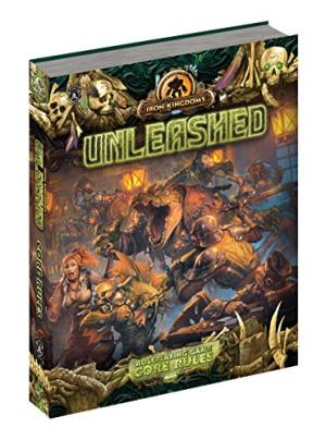 Iron Kingdoms Unleashed - Roleplaying Game Core Rules - PIP 407 Paizo | Cardboard Memories Inc.