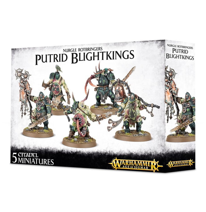 Warhammer Age of Sigmar - Putrid Blightkings 83-28 Games Workshop | Cardboard Memories Inc.