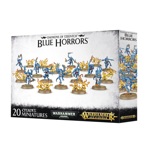 Warhammer Age of Sigmar - Daemons of Tzeentch Blue Horrors 97-30 Games Workshop | Cardboard Memories Inc.