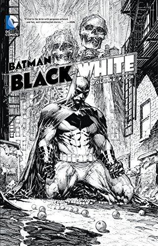 DC Comics - Batman - Black and White - Volume 4 - Hardcover