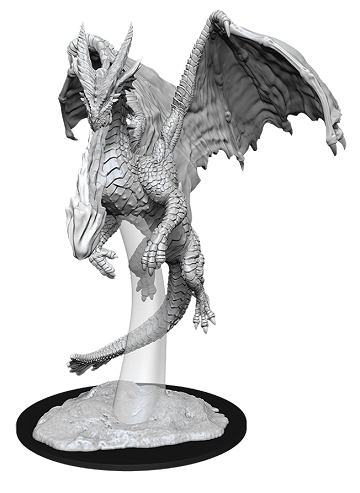 Wizkids - Dungeons and Dragons - Nolzurs Marvellous Miniatures - Young Red Dragon - 90035