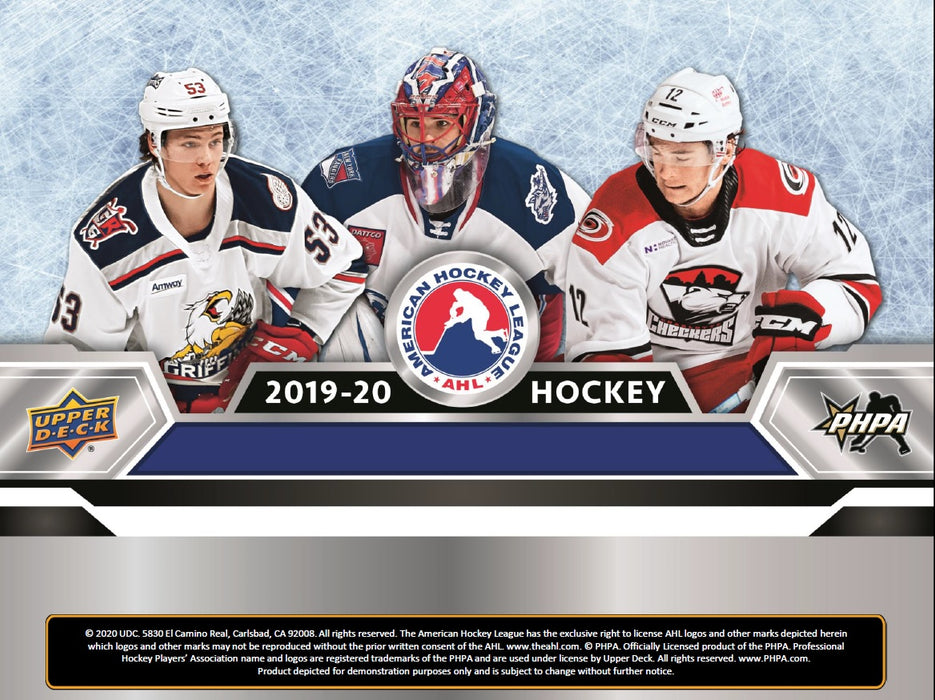Upper Deck - 2019-20 - Hockey - AHL - Hobby Box