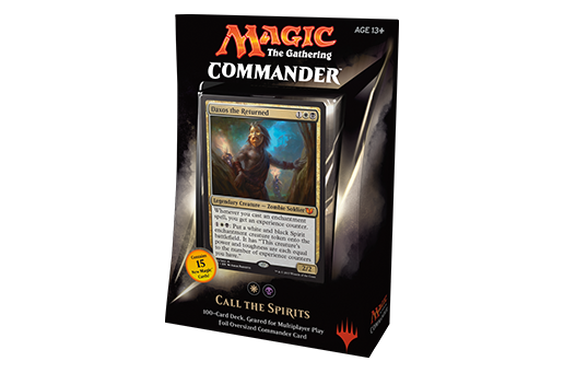 Magic The Gathering - 2015 - Commander Deck - Call The Spirits