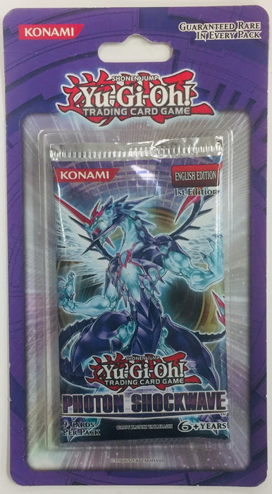 Konami - Yu-Gi-Oh! - Photon Shockwave - Blister Pack