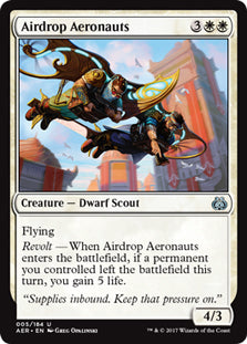 Airdrop Aeronauts - Uncommon  AER005 Wizards of the Coast | Cardboard Memories Inc.
