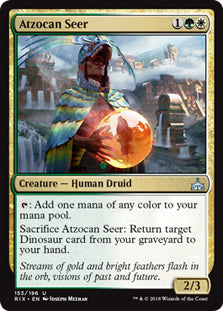 Atzocan Seer - Uncommon - RIX153 Wizards of the Coast | Cardboard Memories Inc.