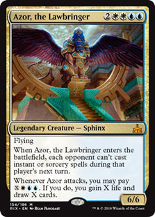 Azor, the Lawbringer - Mythic - RIX154 Wizards of the Coast | Cardboard Memories Inc.