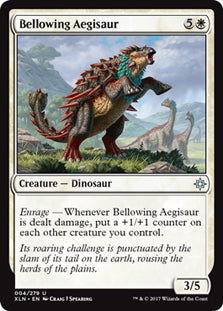 Bellowing Aegisaur - Uncommon - XLN004 Wizards of the Coast | Cardboard Memories Inc.
