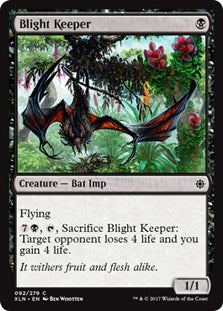 Blight Keeper - Common - XLN092 Wizards of the Coast | Cardboard Memories Inc.