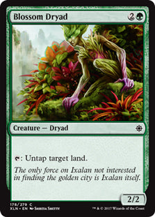 Blossom Dryad - Common - XLN178 Wizards of the Coast | Cardboard Memories Inc.