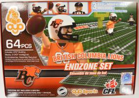 CFL OYO British Columbia Lions Endzone Set Oyo Figures | Cardboard Memories Inc.