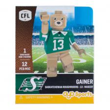 CFL OYO Saskatchewan Roughriders Gainer Oyo Figures | Cardboard Memories Inc.