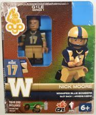 CFL OYO Winnipeg Blue Bombers Nick Moore Oyo Figures | Cardboard Memories Inc.