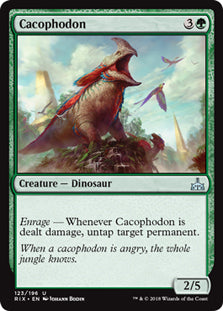 Cacophodon - Uncommon - RIX123 Wizards of the Coast | Cardboard Memories Inc.