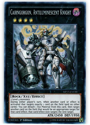 Cairngorgon, Antiluminescent Knight - Super Rare - MP15-EN030