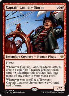 Captain Lannery Storm - Rare - XLN136 Wizards of the Coast | Cardboard Memories Inc.