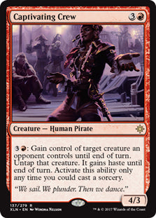 Captivating Crew - Rare - XLN137 Wizards of the Coast | Cardboard Memories Inc.