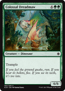 Colossal Dreadmaw - Common - XLN180 Wizards of the Coast | Cardboard Memories Inc.