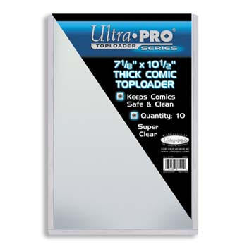Ultra Pro Top Loaders - 7 1/8 x 10 1/2 Inch Thick Comic Book Ultra Pro | Cardboard Memories Inc.