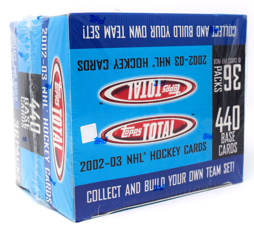 2002-03 Topps Total Hockey Retail Box