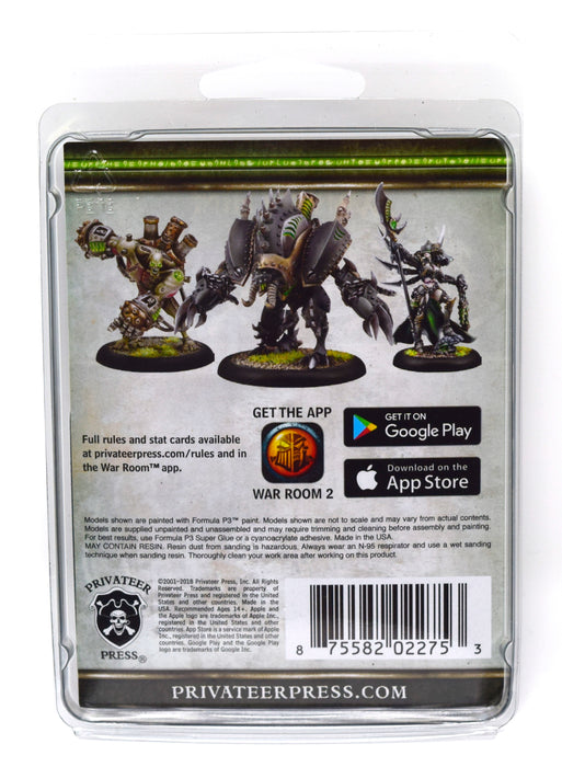 Warmachine - Cryx - Misery Cage Solo - PIP 34147 Privateer Press | Cardboard Memories Inc.