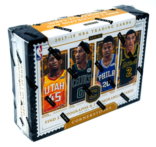 2017-18 Panini Cornerstones Basketball Hobby Box