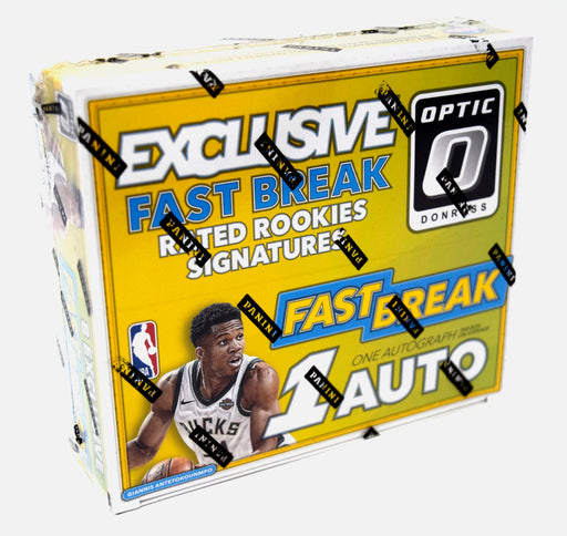 2017-18 Panini Donruss Optic Fast Break Hobby Box Panini | Cardboard Memories Inc.
