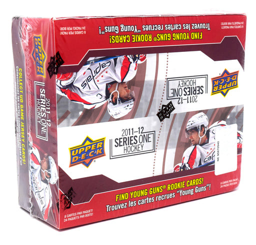 2011-12 Upper Deck Series 1 Hockey Retail Box Upper Deck | Cardboard Memories Inc.