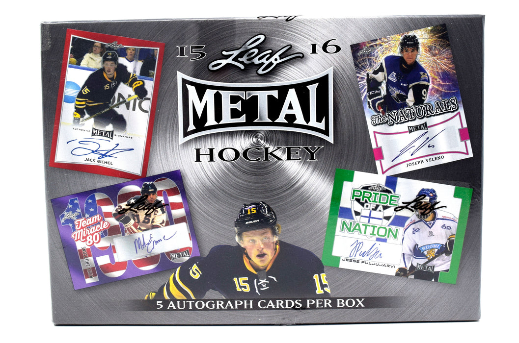 2015-16 In the Game Leaf Metal Hobby Box In the Game | Cardboard Memories Inc.