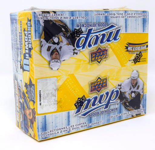 2009-10 Upper Deck MVP Hockey Retail Box Upper Deck | Cardboard Memories Inc.