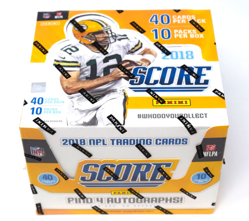 2018 Panini Score Football Jumbo Box Panini | Cardboard Memories Inc.