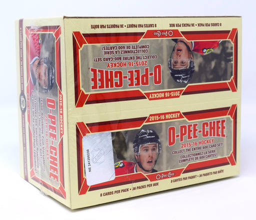 2015-16 Upper Deck O-Pee-Chee Hockey Retail Box Upper Deck | Cardboard Memories Inc.